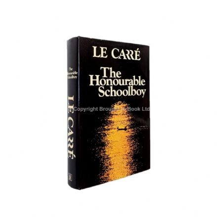 The Honourable Schoolboy Signed John le Carré First Edition Hodder & Stoughton 1977
